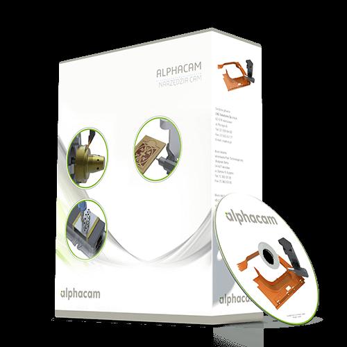 Oprogramowanie CAD CAM dla drewna, kamienia, metalu - AlphaCAM