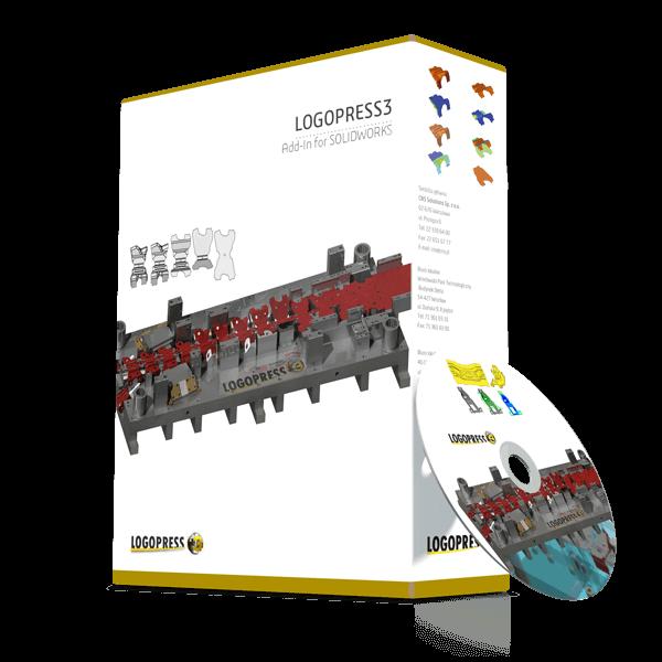 Logopress - projektowanie tłoczników wielotaktowych