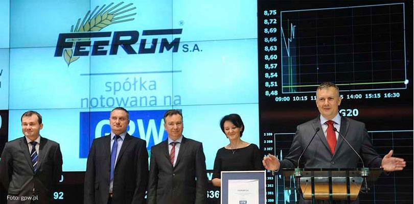 Daniel Janusz, prezes zarządu Feerum S.A.