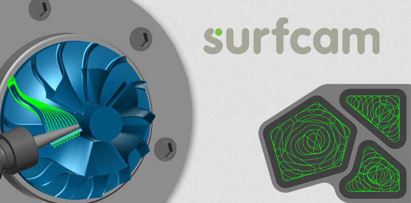 Narzędzie Surfcam z technologiąTrueMill