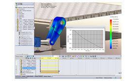 SOLIDWORKS Simulation Analiza ruchu