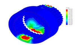 SOLIDWORKS Simulation Analiza zmęczeniowa