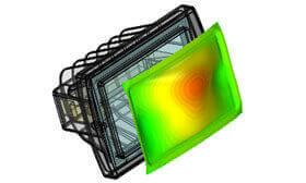 SOLIDWORKS Simulation Przepływ HVAC
