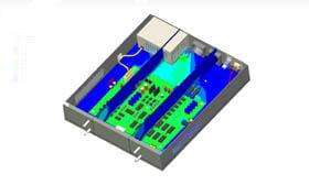SOLIDWORKS Simulation Przepływy w Elektronice