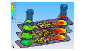 SOLIDWORKS Simulation Wymiana ciepła (CFD)
