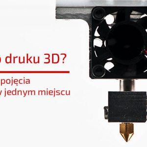 Co wiesz o druku 3D - najważniejsze pojęcia i technologie w jednym miejscu