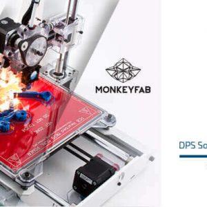 Drukarka 3D MonkeyFab DPS Software Współpraca