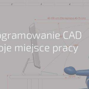 Oprogramowanie CAD w miejscu pracy inżyniera