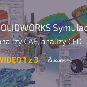 Symulacja analizy cae cfd
