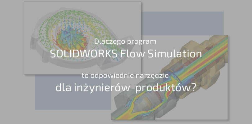 Dlaczego program SOLIDWORKS Flow Simulation