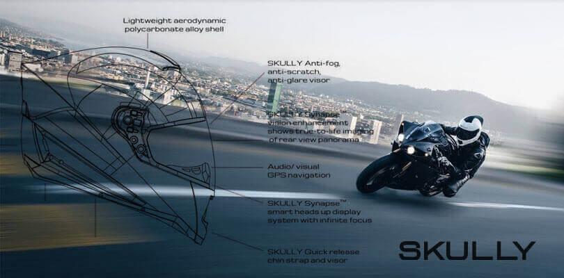 SOLIDWORKS Case Study - SKULLY Helmets Kaski