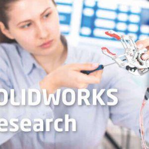 Licencja SOLIDWORKS Research oprogramowanie CAD 3D