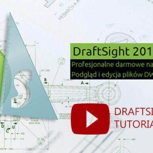 DraftSight Tutorial po polsku - youtube