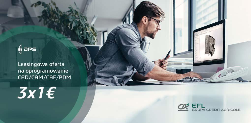 Oprogramowanie SOLIDWORKS w leasingu 3x1€