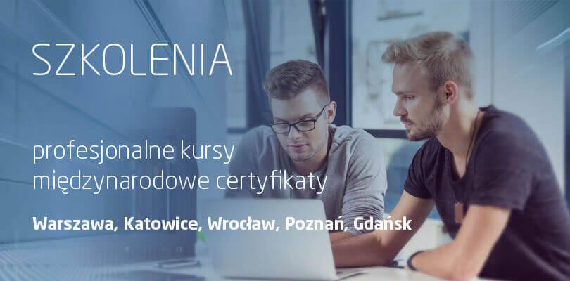 Szkolenia CAD CAM CAE PDM - Warszawa, Katowice, Wrocław, Poznań, Gdańsk