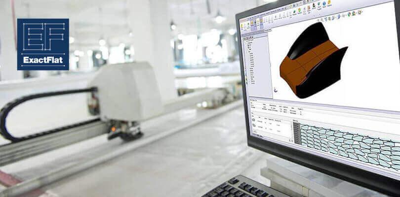 ExactFlat SOLIDWORKS projektowanie 3D z tkanin technicznych