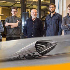 Hyperloop Hyper Poland SpaceX SOLIDWORKS