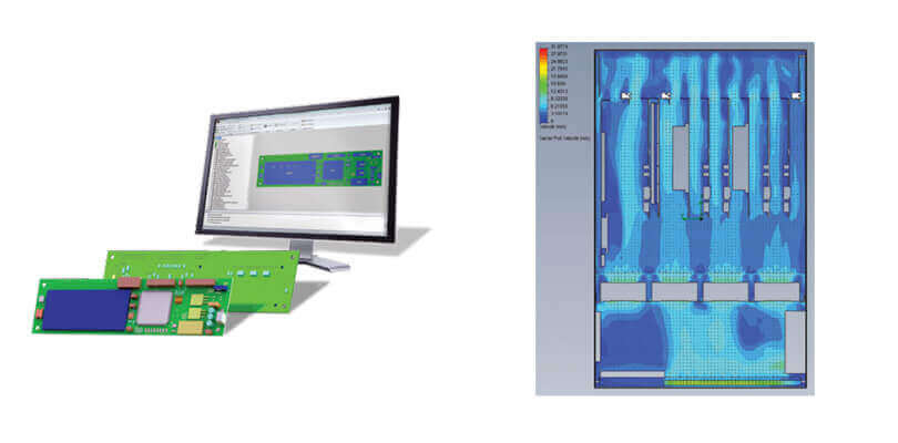SolidWorks Electrical 3d electronic cooling flow simulation