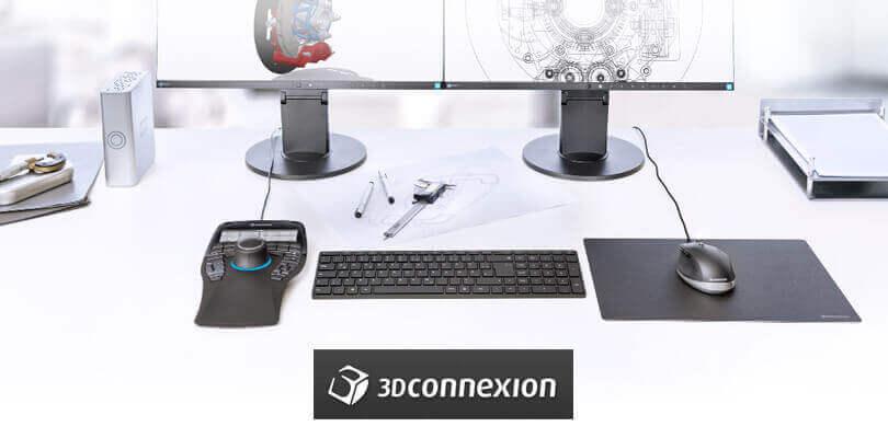 Manipulatory 3D - SpaceMouse oraz CadMouse od 3DConnexion