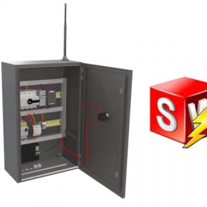 SOLIDORKS Electrical 3D CAD pierwszy projekt
