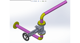 SOLIDWORKS Routing grafika