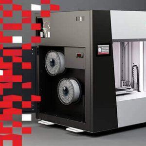 Strefa wystawców DPS Forum. 3DGence drukarki 3D