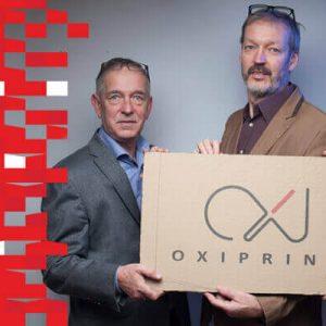 Strefa wystawców DPS Forum 2016. Firma Oxiprint