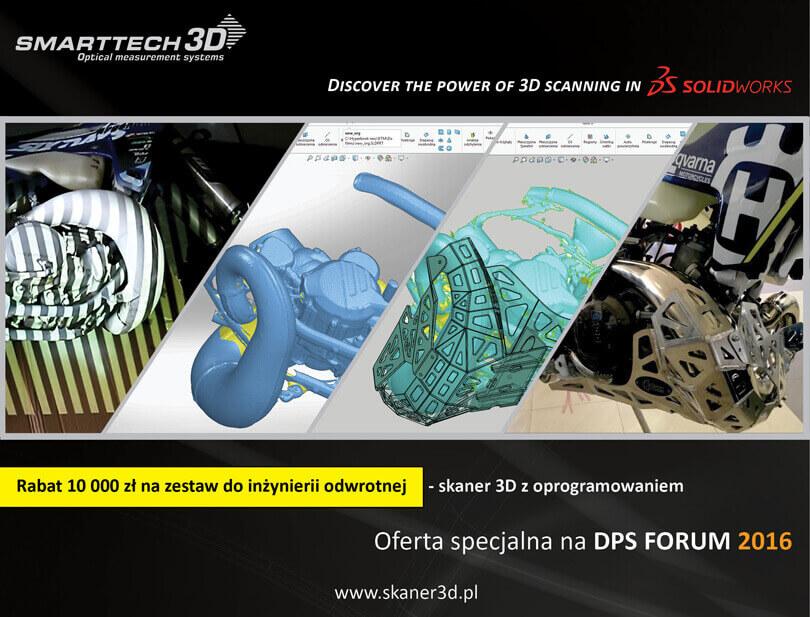 Promocja Smarttech SOLIDWORKS na DPS Forum