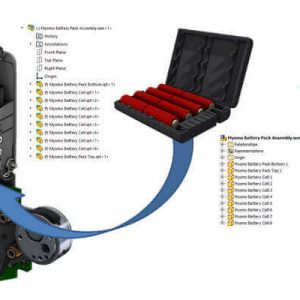 3D Interconnect - obsługa danych CAD innych producentów - SOLIDWORKS 2017