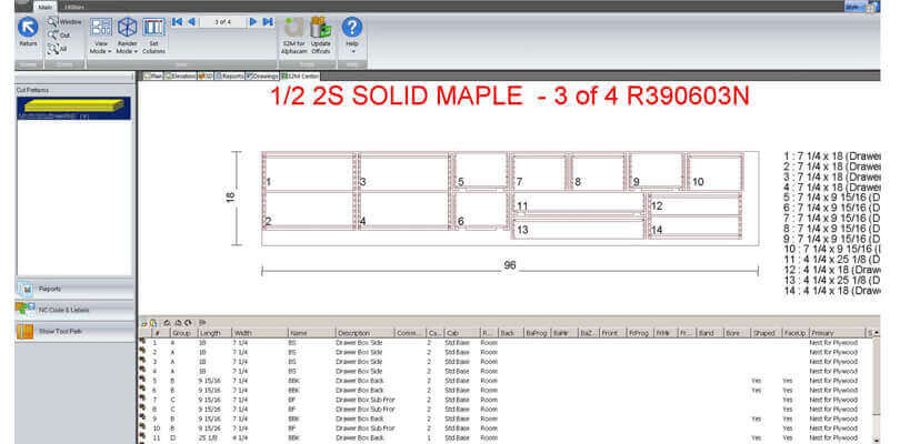 Oprogramowanie - meble na wymiar - Cabinet Vision Vero Software