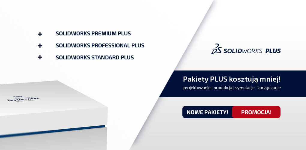 SOLIDWORKS Plus 2019 - promocja na nowe pakiety SOLIDWORKS