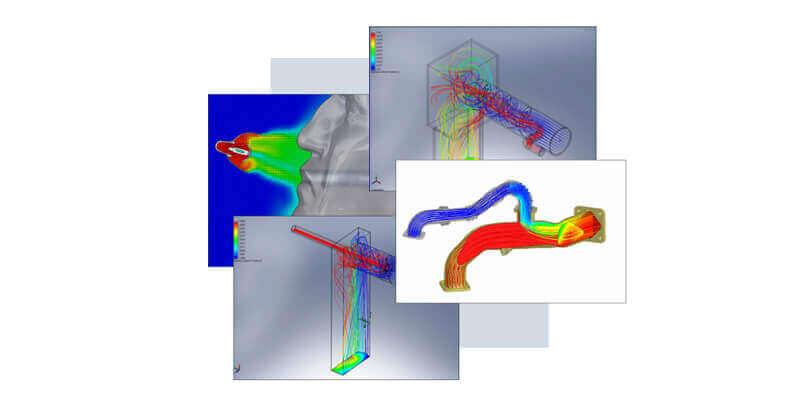 CFD Symulacja Analizy mieszania płynów i gazów