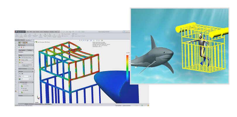 Analiza konstrukcji spawanej w SOLIDWORKS Simulation