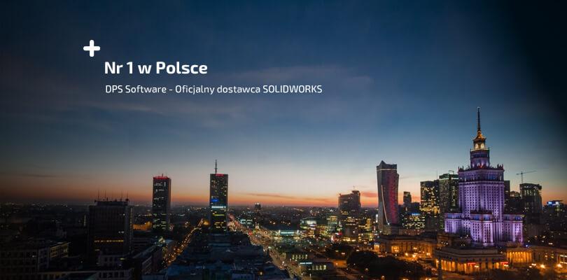 Największy dostawca SOLIDWORKS w Polsce - autoryzowany reseller DPS Software