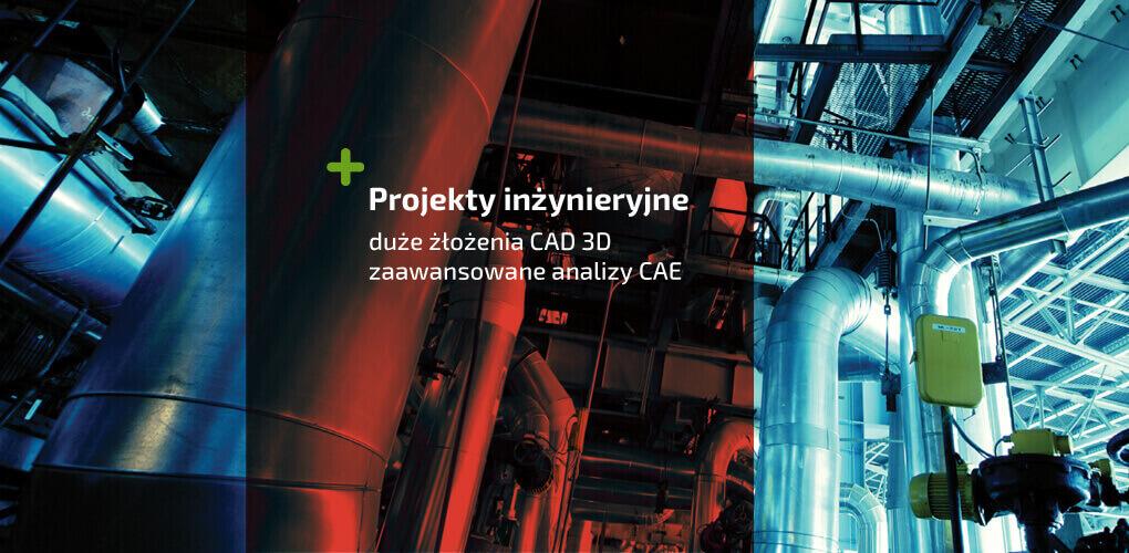 Duże złożenia - zaawansowane analizy - SOLIDWORKS CAD CAE