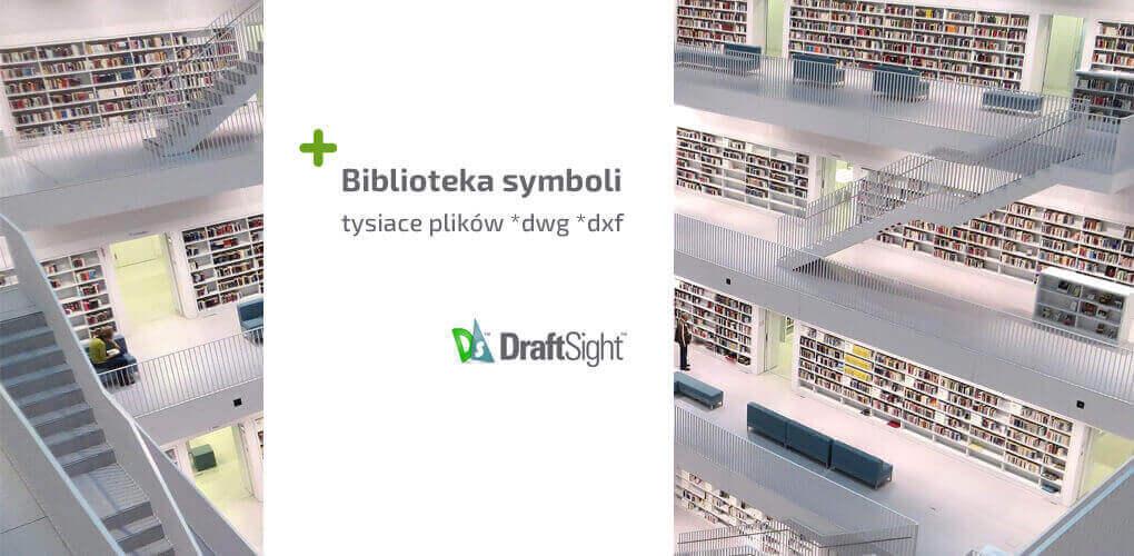 Biblioteka symboli DraftSight - pliki dwg dxf