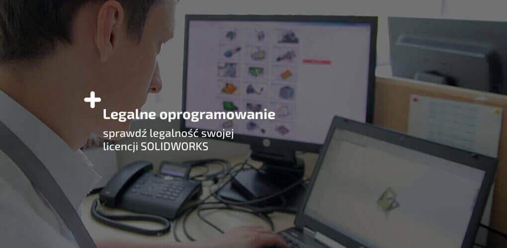Legalizacja SOLIDWORKS - oprogramowanie komputerowe