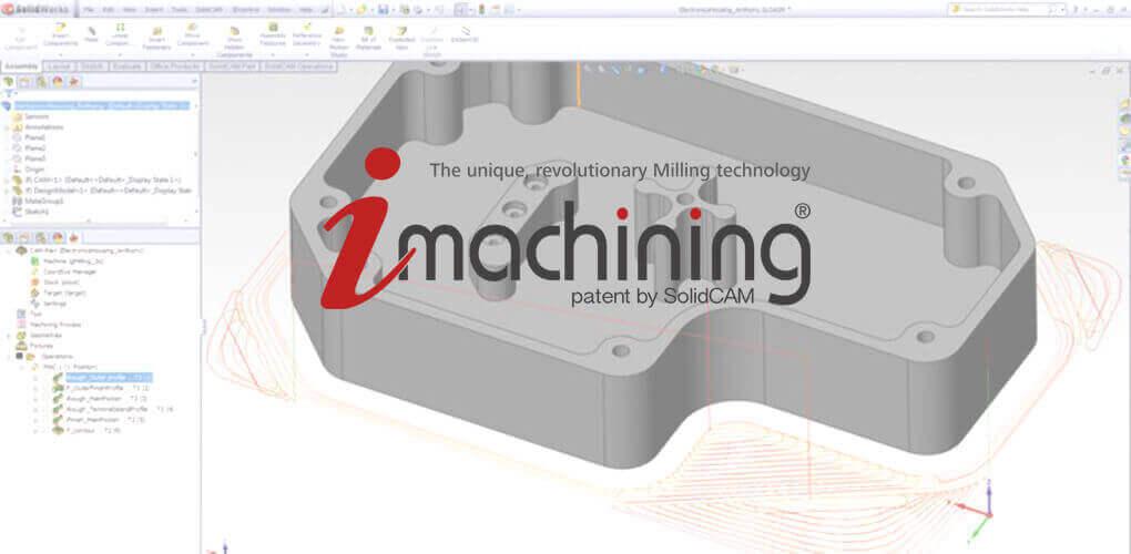 Oprogramowanie cam dla Solid Works - SOLIDCAM iMachining