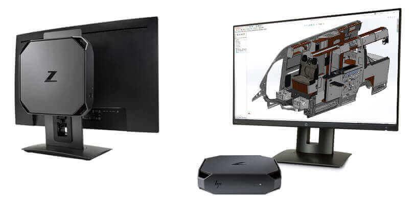 Komputer dla SOLIDWORKS - Stacja Robocza HP Z2 Mini G3