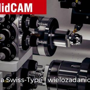 SOLIDCAM Swiss-Type - wielozadaniowa obróbka CNC