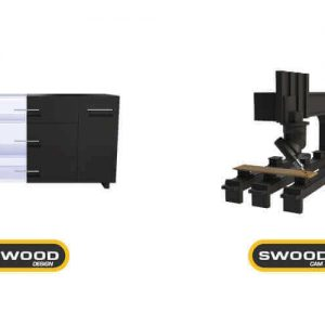 Projektowanie mebli program CAD CAM - SWOOD