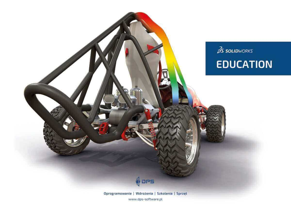 SOLIDWORKS Education CAD 3D - oprogramowanie DPS Software