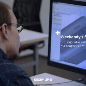 Weekendowe szkolenia inżynierskie SOLIDWORKS CAD 3D