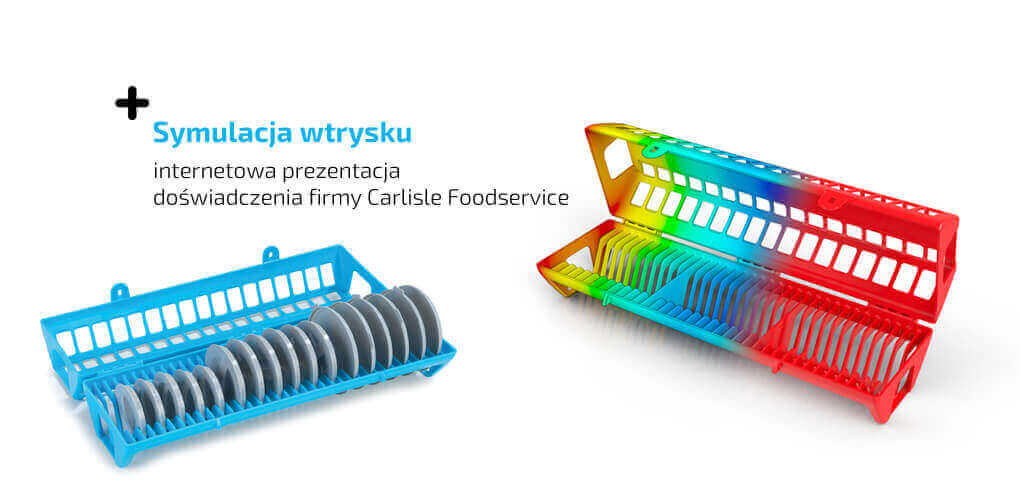 SOLIDWORKS Plastics - symulacja wtrysku - internetowa prezentacja -w webinar