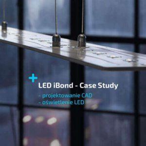 LED IBond - projektowanie AD - oświetlenie led- solidworks case study