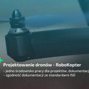 Projektowanie dronów 3D CAD SOLIDWORKS