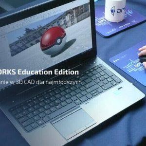 SOLIDWORKS Education Edition - modelowanie 3d cad dla najmłodszych