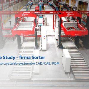 Sorter - wykorzystanie systemów cad cae pdm - solidworks case study