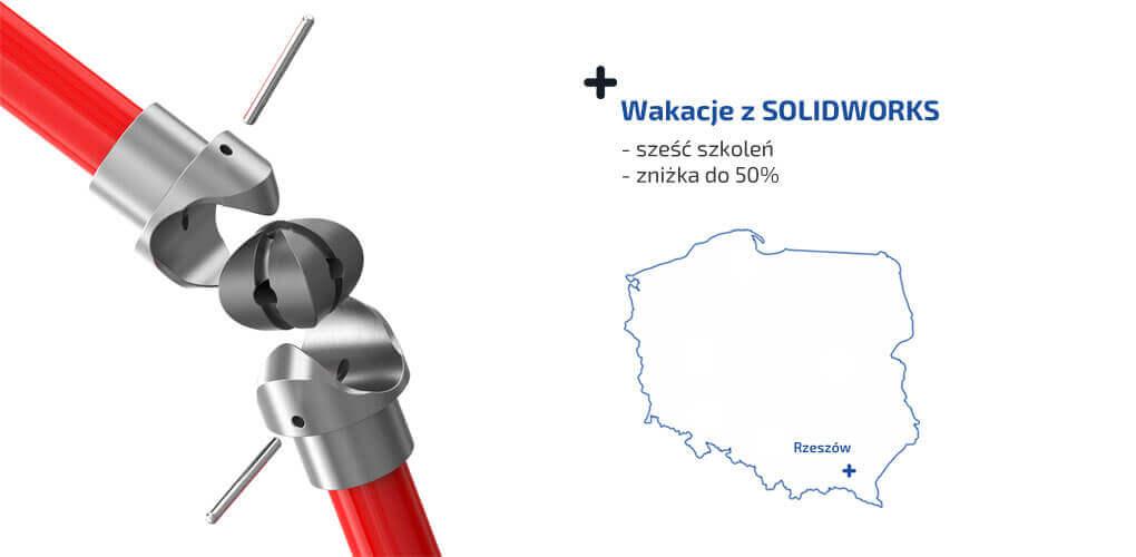 SOLIDWORKS Rzeszów - 6 kursów - 10 dni szkoleniowych - zniżka do 50%