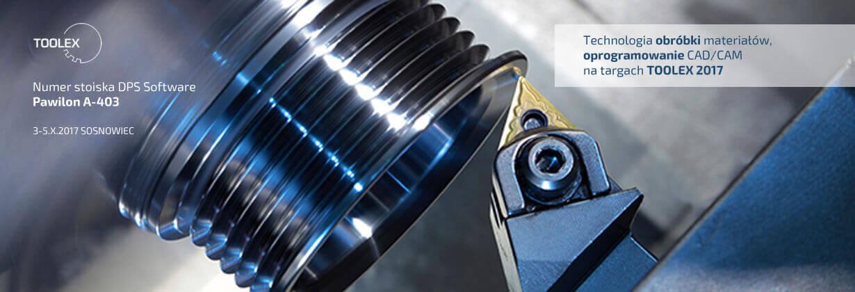 Oprogramowanie do obróbki materiału - oprogramowanie CAD/CAM dla przemysłu - targi Toolex 2017 Sosnowiec